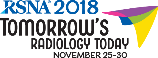 RSNA Annual Meeting - November 25-30, 2018 - Chicago